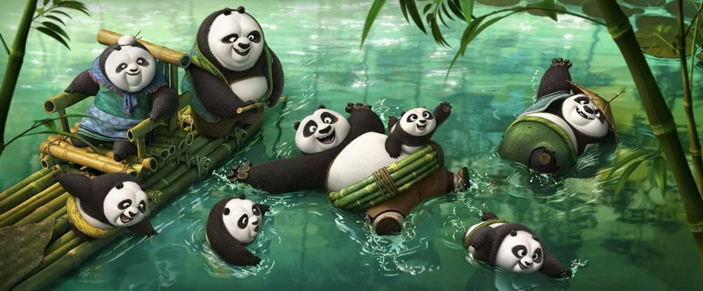 """""""Kung Fu Panda 3"""": torna sul grande schermo il panda Po"""