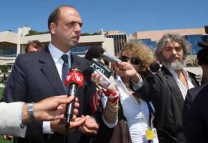 Il ministro Alfano (VALERY HACHE/AFP/Getty Images)