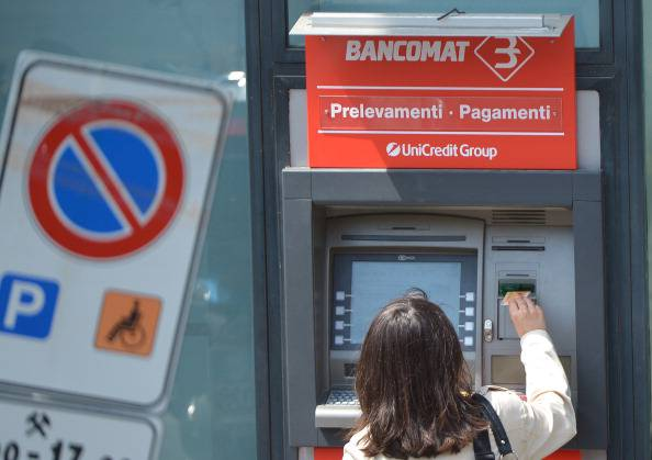 Bancomat (VINCENZO PINTO/AFP/GettyImages)