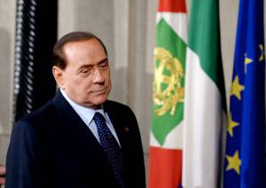 Berlusconi (FILIPPO MONTEFORTE/AFP/Getty Images)
