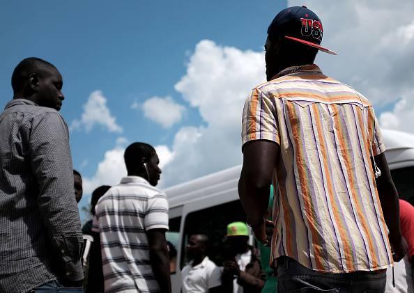 Migranti (ALBERTO PIZZOLI/AFP/Getty Images)