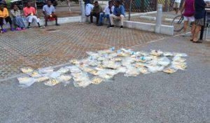 Profughi migranti protesta cibo Eraclea