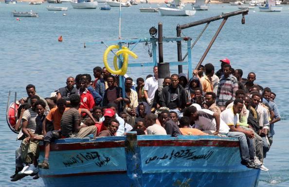 Sbarco di migranti (Mauro Seminara/AFP/Getty Images)