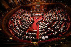 Aula del Senato (Franco Origlia/Getty Images)