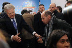 Denis Verdini ai tempi del Pdl (TIZIANA FABI/AFP/Getty Images)