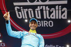 Fabio Aru (Photo credit should read LUK BENIES/AFP/Getty Images)