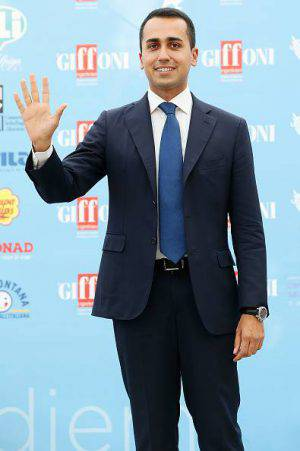 GIFFONI VALLE PIANA, ITALY - JULY 21:  Luigi Di Maio attends Giffoni Film Festival 2015 - Day 5 photocall on July 21, 2015 in Giffoni Valle Piana, Italy.  (Photo by Stefania D'Alessandro/Getty Images for Giffoni Film Festival)