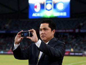 Erick Thohir(Photo by Claudio Villa - Inter/Getty Images)