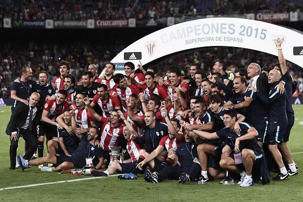Supercoppa di Spagna, l'Athletic Bilbao sorprende il Barcellona