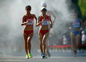 20 Km Marcia femminile (Photo by Christian Petersen/Getty Images for IAAF)