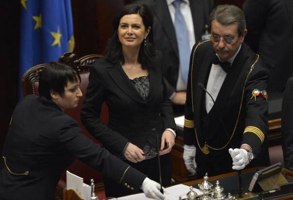 Laura Boldrini (ANDREAS SOLARO/AFP/Getty Images)