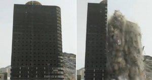 edificio crolla a La Mecca DirettaNews