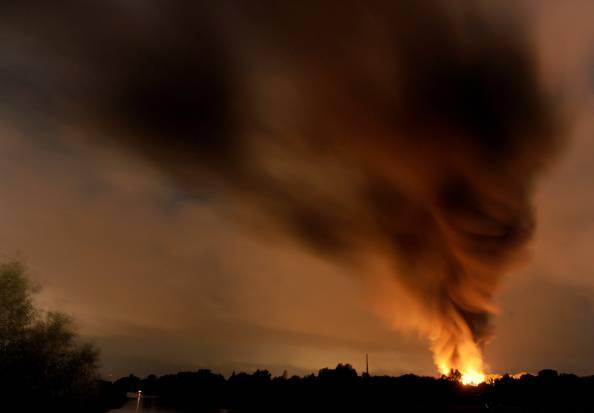 Esplosione (INGO WAGNER/AFP/Getty Images)