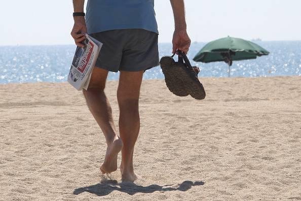 Anziano muore in spiaggia