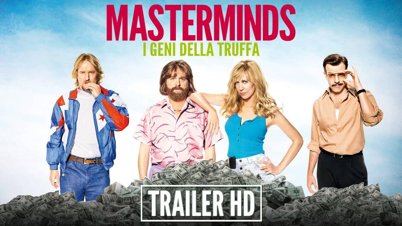 """""""Masterminds – I geni della truffa"""": il film ispirato a fatti realmente accaduti"""