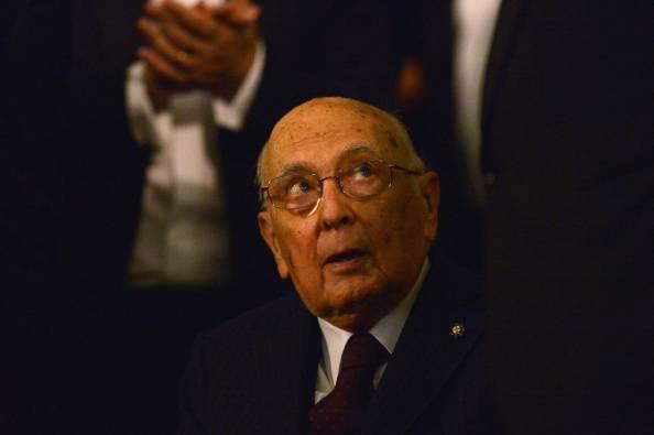 Giorgio Napolitano (TIZIANA FABI/AFP/Getty Images)