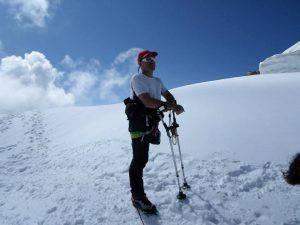 Incidente in montagna, muore Bellinzani, l'alpinista con una gamba sola DirettaNews