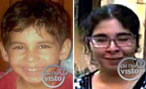 Madre e figlio scomparsi (foto dal web)