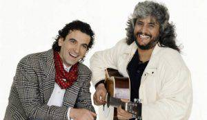 Pino Daniele e Massimo Troisi (getty images)