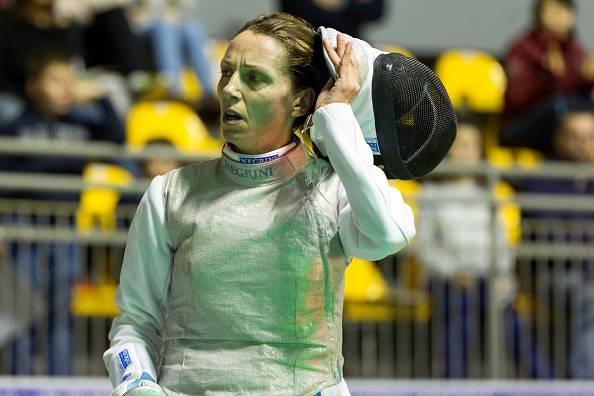 Valentina Vezzali (Photo by Andrea Gattino/Pacific Press/LightRocket via Getty Images)