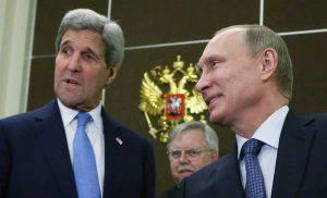 Putin Kerry Siria
