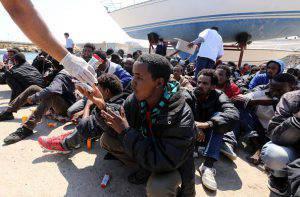 Migranti Lampedusa tunisini risarcimento