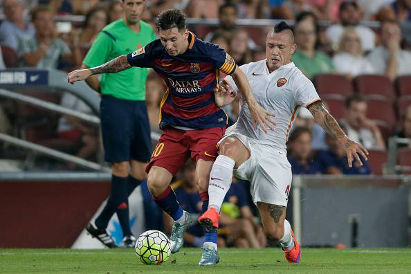 Barcellona-Roma (Photo by VI Images via Getty Images)