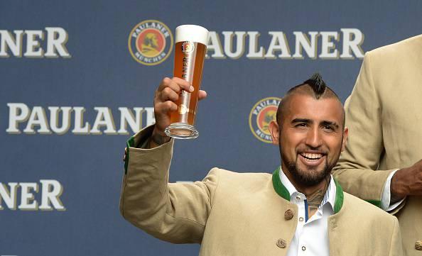 Arturo Vidal (Photo credit should read CHRISTOF STACHE/AFP/Getty Images)