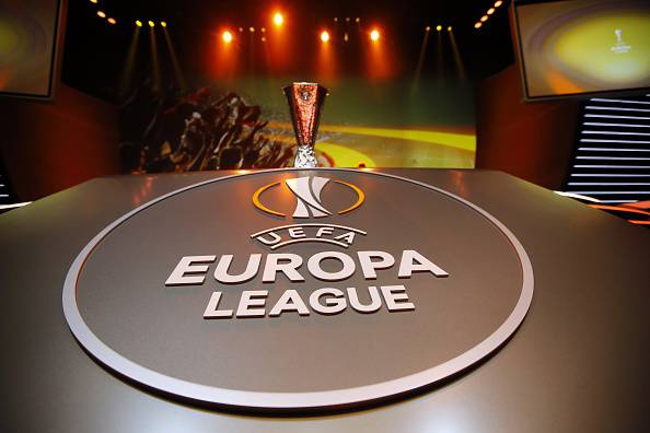 Europa League (Photo credit should read VALERY HACHE/AFP/Getty Images)