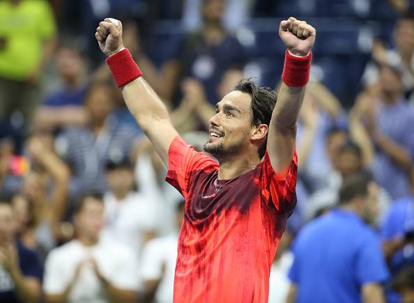 Fabio Fognini  (Photo by Streeter Lecka/Getty Images)