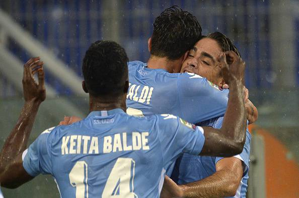 Lazio (Photo credit should read ANDREAS SOLARO/AFP/Getty Images)