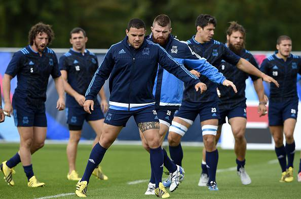 Italia Rugby (Photo credit should read FRANCK FIFE/AFP/Getty Images)