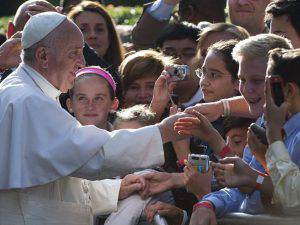 papa Francesco Sophie Cruz