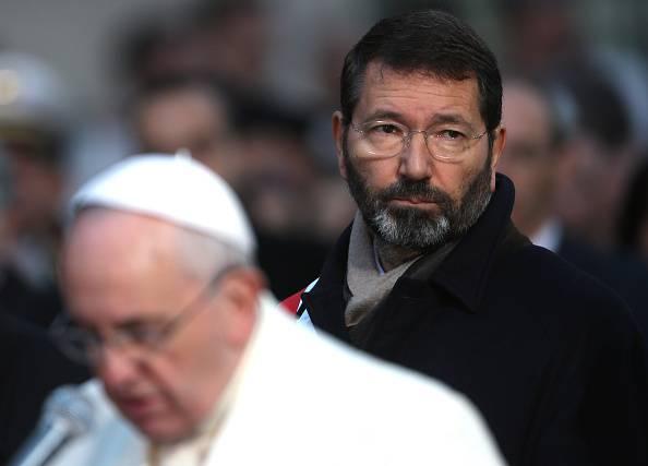 Papa Francesco e Ignazio Marino (Franco Origlia/Getty Images)