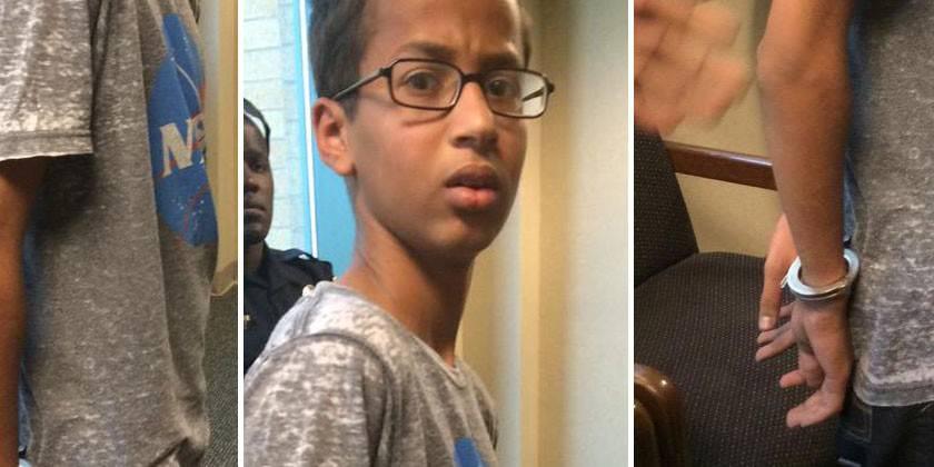 Costruisce un orologio e lo arrestano: la realtà diventa un incubo per il piccolo Ahmed