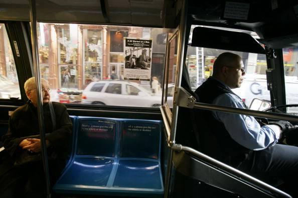 Autista di un bus (Chris Hondros/Getty Images)