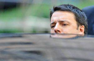 Italian Prime Minister Matteo Renzi gets into his car as he leaves the EU headquarters in Brussels on March 21, 2014 at the end of the two-day European Council summit. AFP PHOTO / GEORGES GOBET (Photo credit should read GEORGES GOBET/AFP/Getty Images)