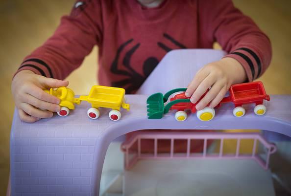 I giochi di un bambino (Matt Cardy/Getty Images)