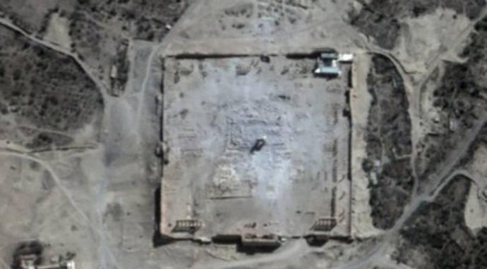 Isis, il tempio principale di Palmira è stato raso al suolo