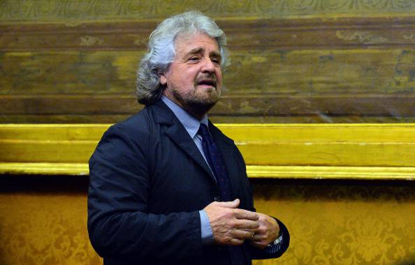 Beppe Grillo (ANDREAS SOLARO/AFP/Getty Images)