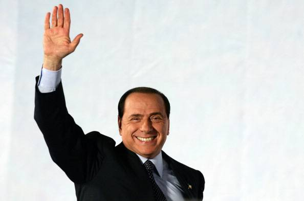 Berlusconi (ANDREAS SOLARO/AFP/Getty Images)