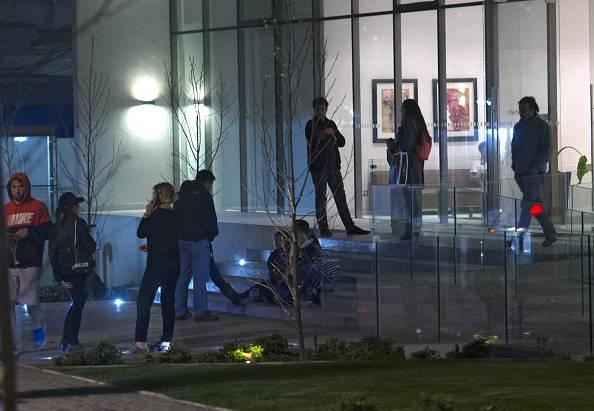 Cile, paura dopo la scossa (VLADIMIR RODAS/AFP/Getty Images)