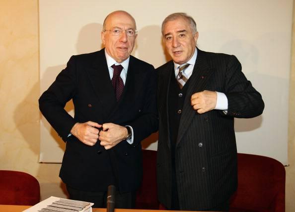 Confalonieri e Dell'Utri (Vittorio Zunino Celotto/Getty Images)