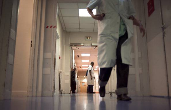 Corsia di un ospedale (FRED DUFOUR/AFP/Getty Images)