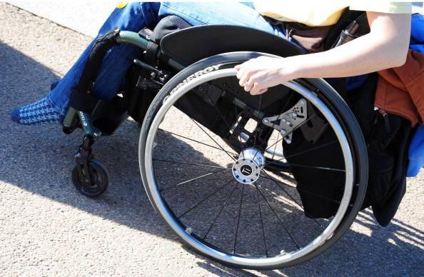 Disabilità (KAREN BLEIER/AFP/Getty Images)