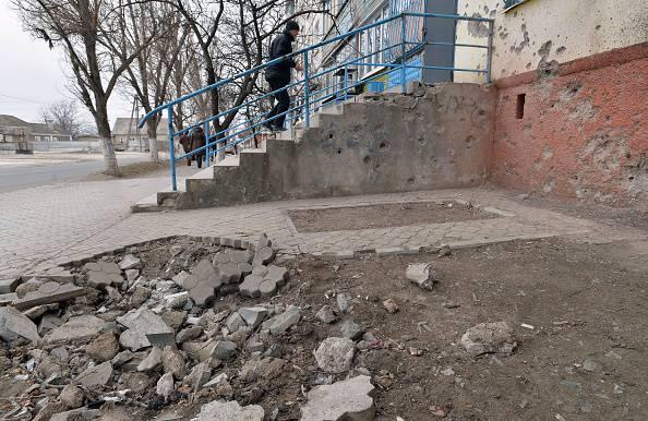 Marciapiede danneggiato (GENYA SAVILOV/AFP/Getty Images)