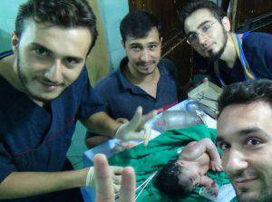 Siria bimba proiettile in testa