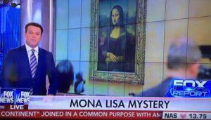 Monna Lisa Gaffe Fox Leonardo Di Caprio