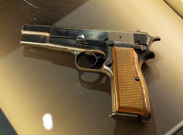 Pistola (JANEK SKARZYNSKI/AFP/Getty Images)