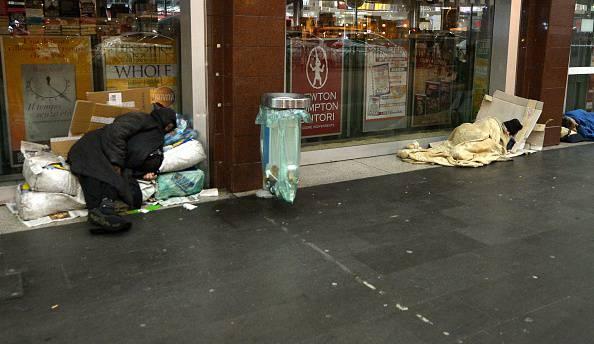 Povertà (TIZIANA FABI/AFP/Getty Images)